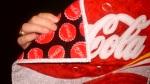 Coke quilt backing